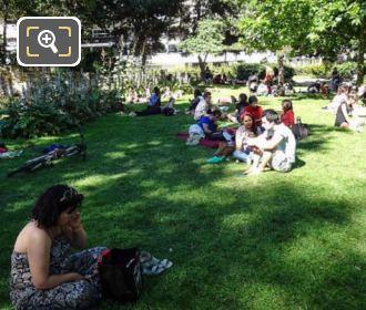 Jardin Du Philosophe Parc De Bercy