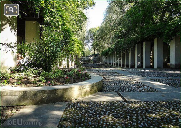 Pergola Walkways Jardin Romantique