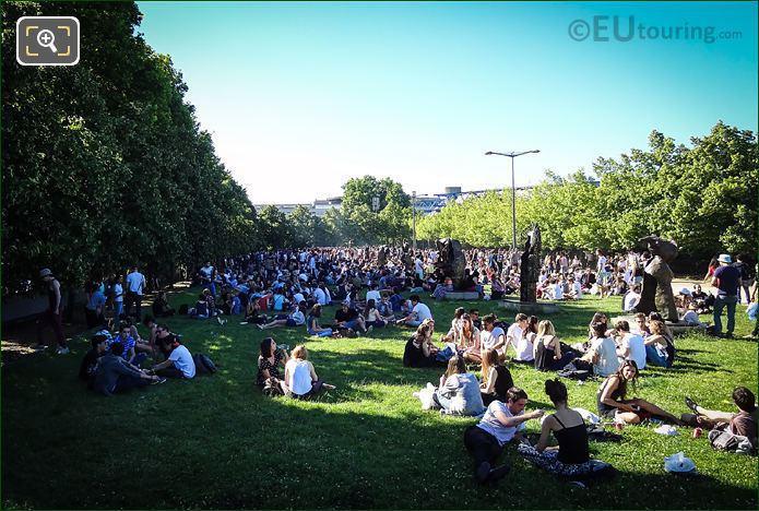 Fete De La Musique Park Bercy