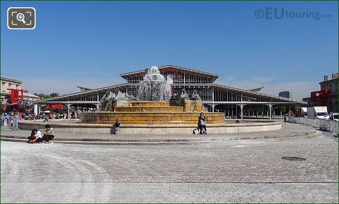 Grande Halle And Fontaine Aux Lions De Nubie