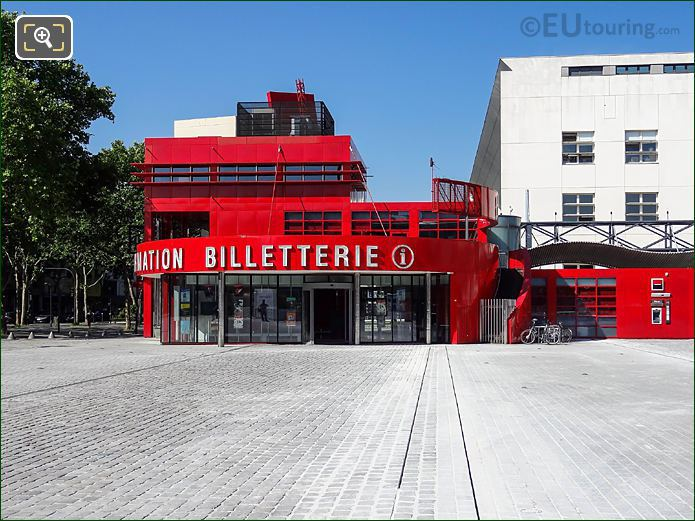Parc De La Villette Tourist Information Centre