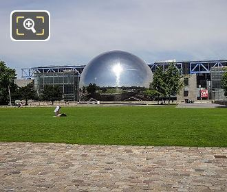 The Geode And Cite Des Sciences Park VIllette