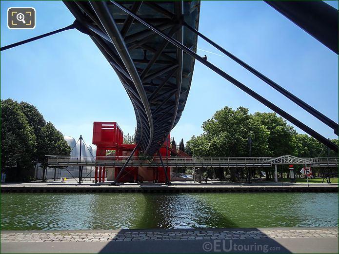 Pont Galerie De l'Ourcq Footbridge