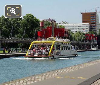 Canauxrama Boat Parc De La Villette