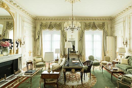 Ritz Hotel Rooms In Paris