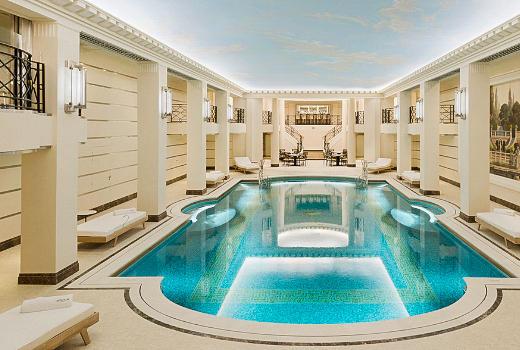 Ritz Hotel New Spa In Paris
