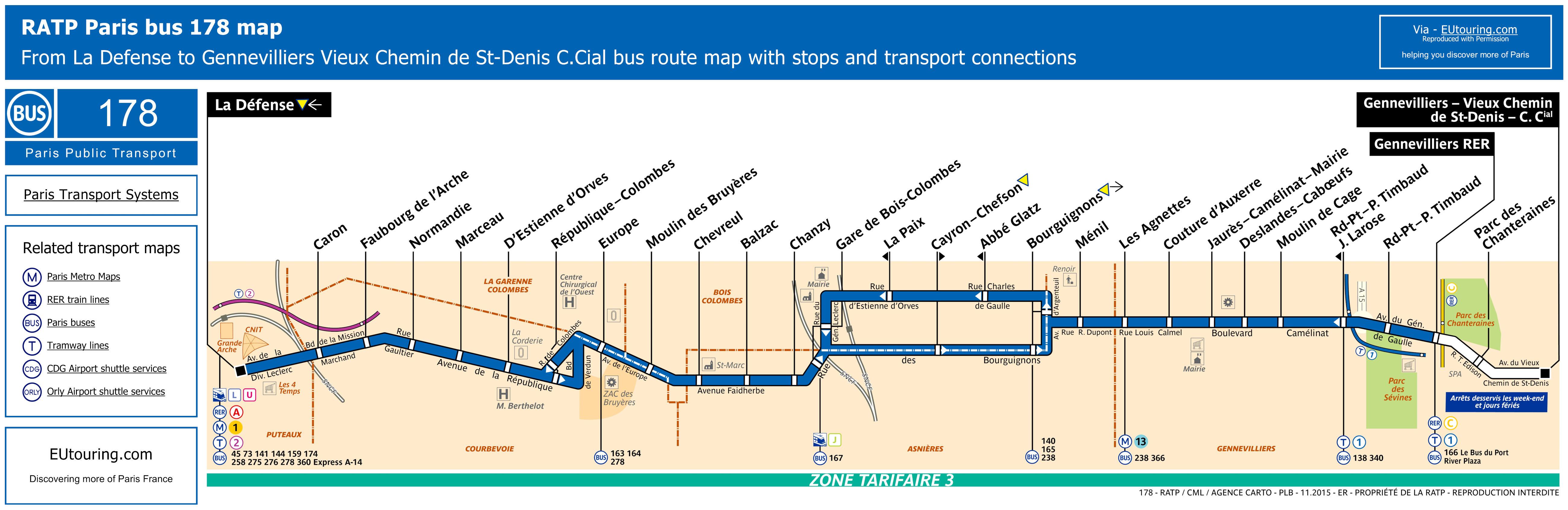 RATP Bus Line 178 - Image (HQ ...