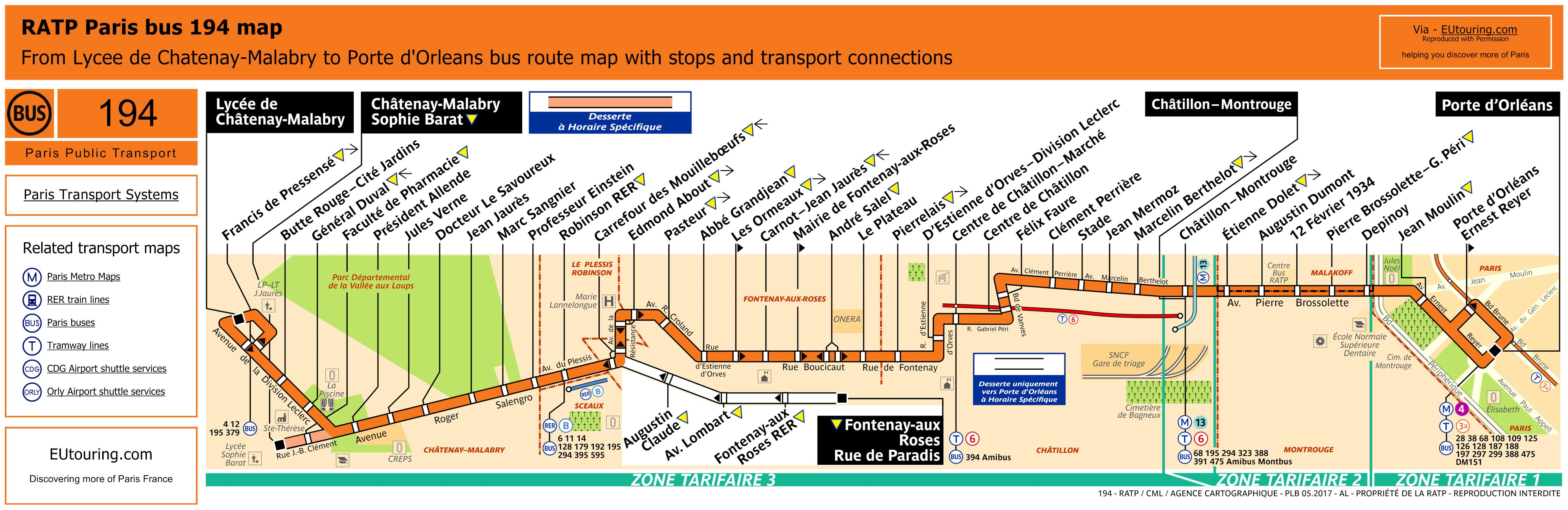 RATP Bus Line 194 - Image (HQ ...