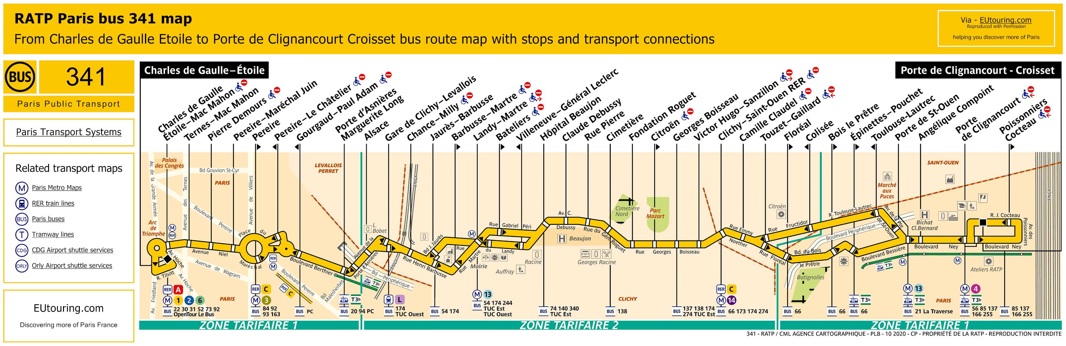 RATP Bus Line 341 - Image (SQ ...