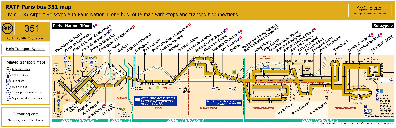 ratp bus line 351 image hq