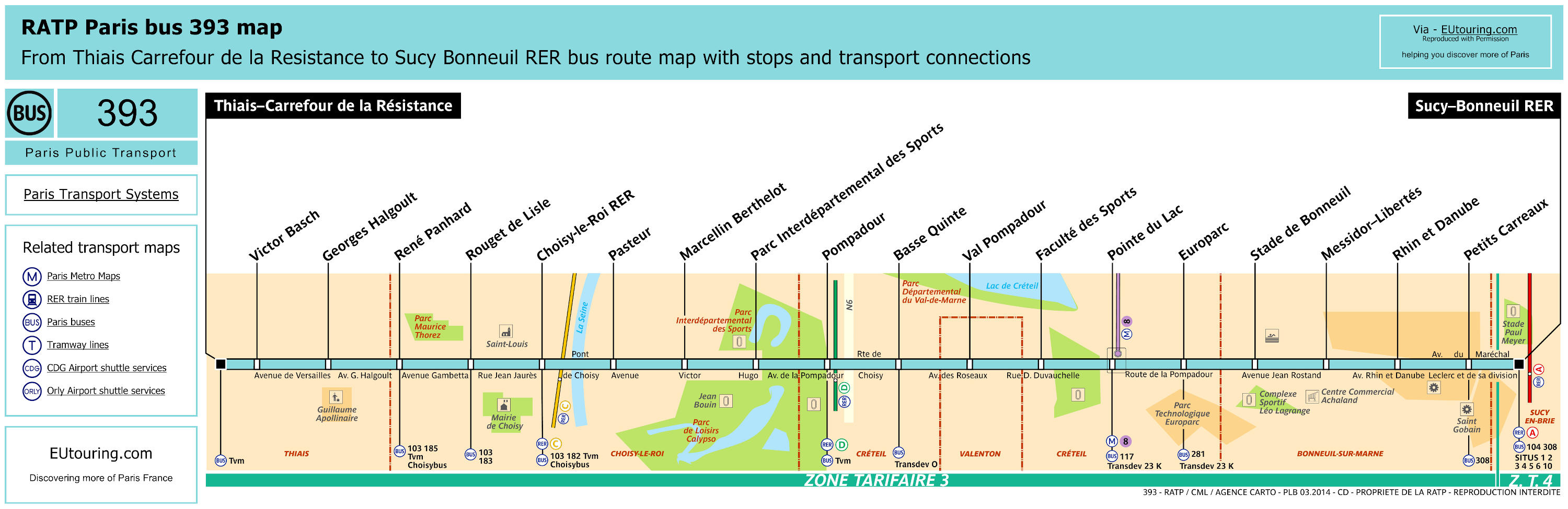ratp route maps for paris bus lines 390 through to 399. Black Bedroom Furniture Sets. Home Design Ideas