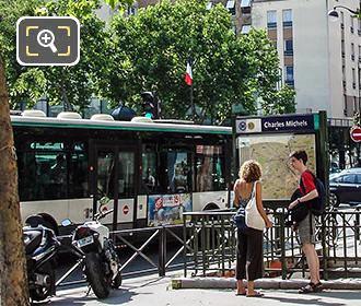 Ratp Bus Maps Timetables For Paris Bus Lines 180 To 189