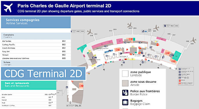 cdg terminal 2d map How To Get To Charles De Gaulle Airport In Paris Using Public cdg terminal 2d map