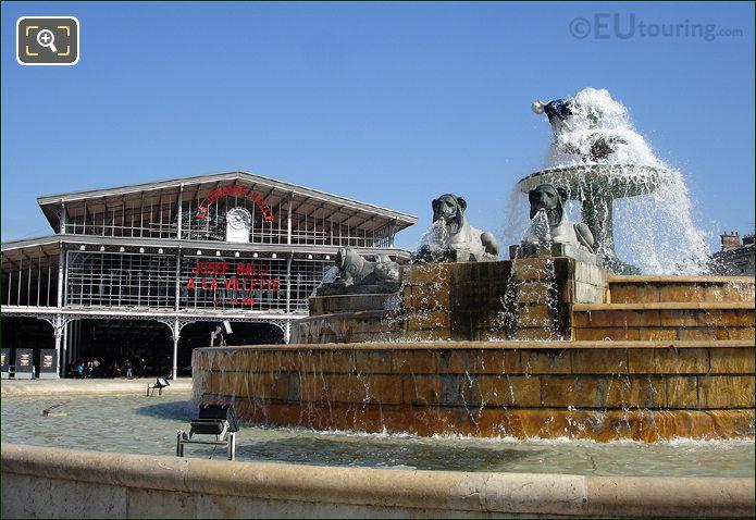Parc de la Villete Water Fountain