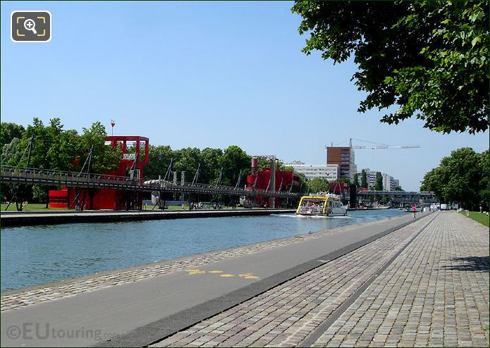 Canauxrama On Canal De l'Ourcq