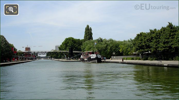 Paris Canal And Old Barge