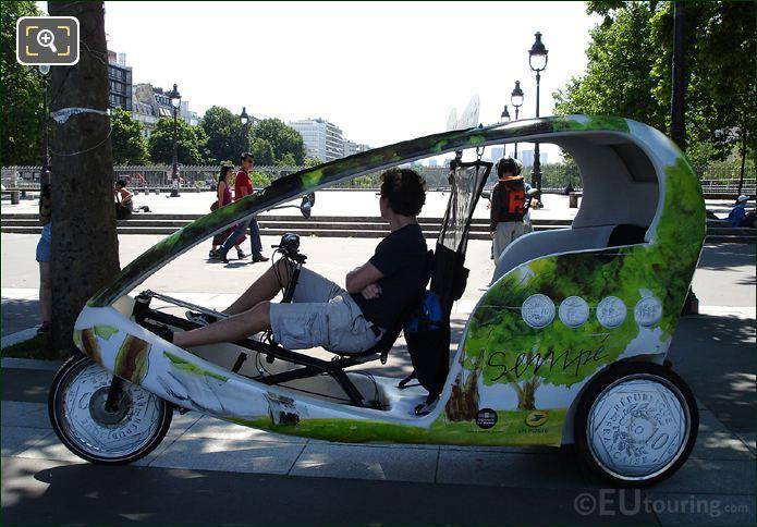 Rickshaw Place De La Bastille
