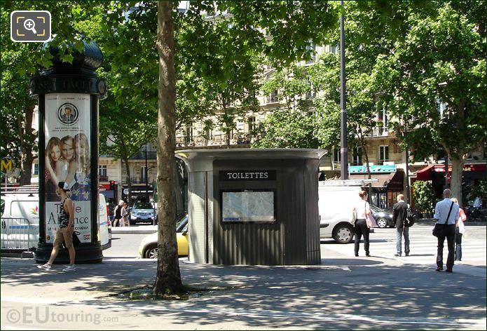Public Toilets In Paris