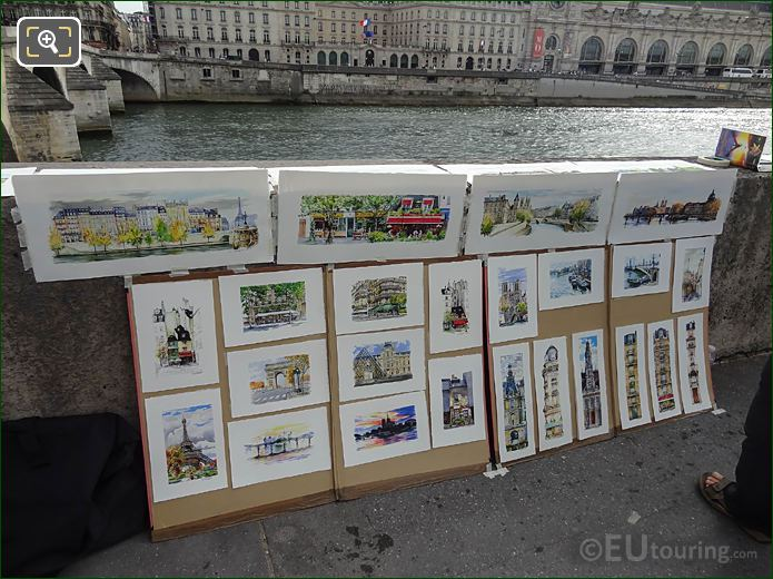 Paintings For Sale Quai Des Tuileries Paris