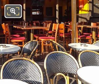 Tables And Chairs In Le Comptoir Du Pantheon