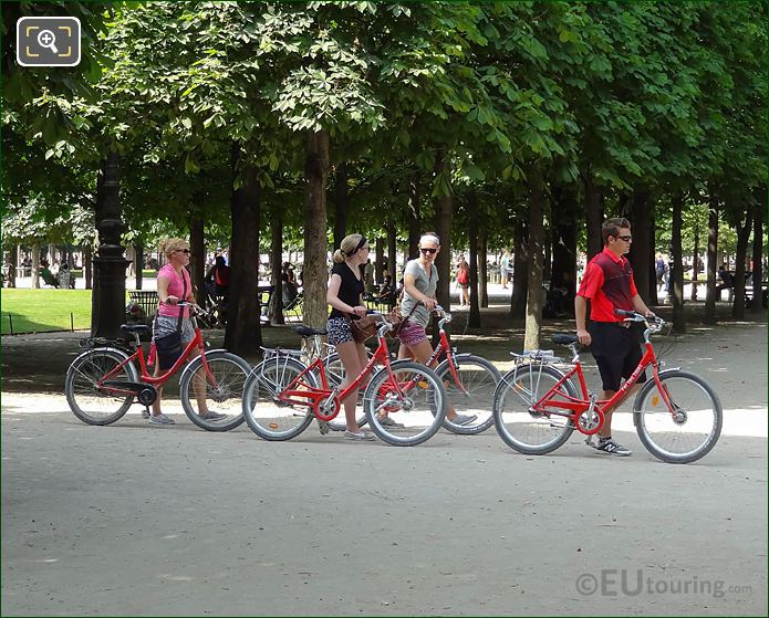 Fat Tire Bike Tour In Jardin Du Tuileries