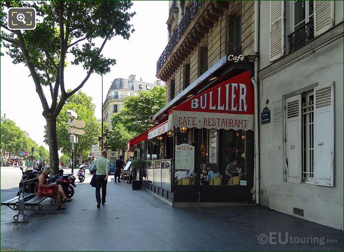 Bullier Restaurant Boulevard De Montparnasse