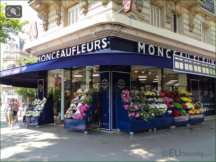 Monceau Fleurs Florist On Avenue Denfert-Rochereau