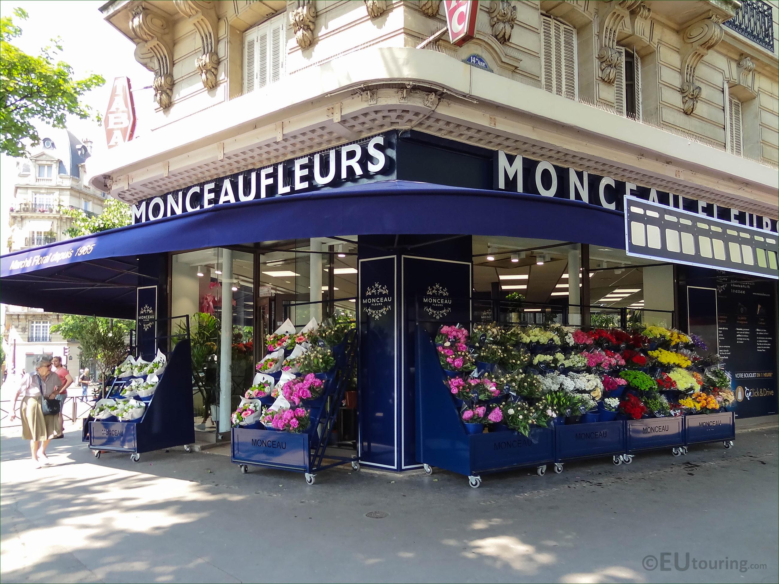 Monceau Fleurs florist on Avenue Denfert-Rochereau Paris - Page 217