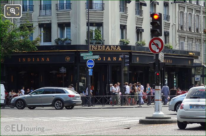 Indiana Restaurant Avenue Du General Leclerc Paris