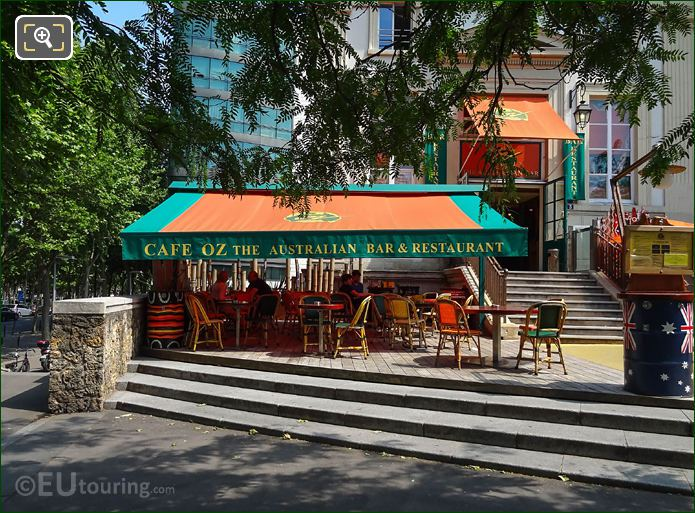 Cafe Oz Australian Bar And Restaurant Paris