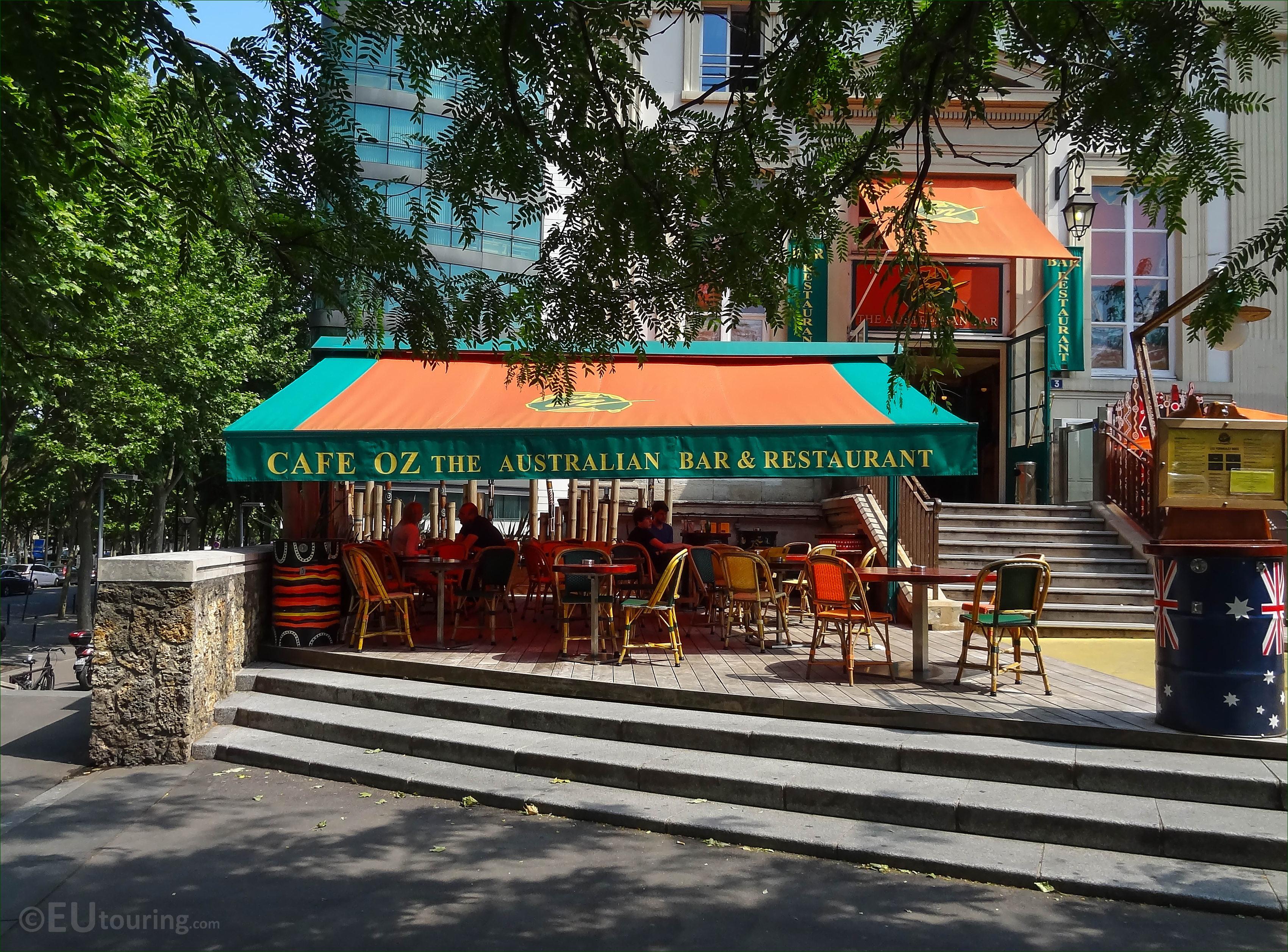 Cafe Oz Paris France