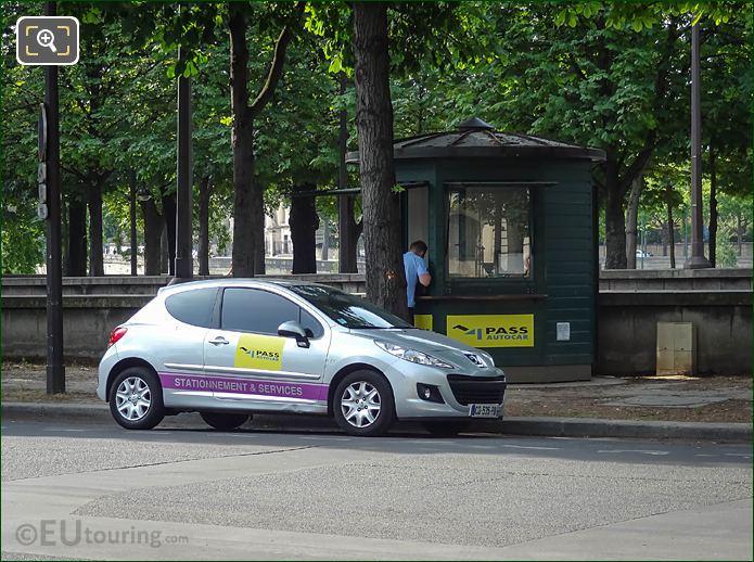 Pass Autocar Payment Booth Cours La Reine