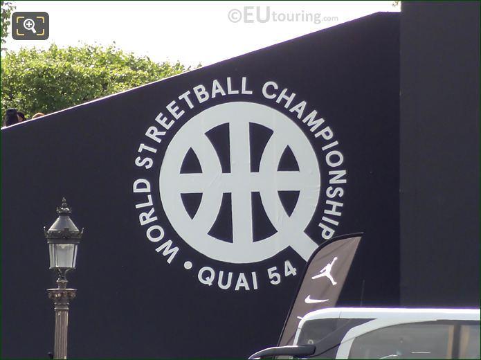 Quai 54 World Streetball Championship Logo