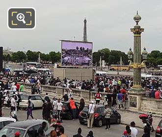 Place De La Concorde Hosts World Streetball Championship
