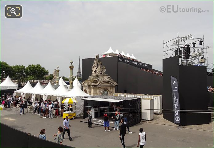 Marquees At World Streetball Championship Paris