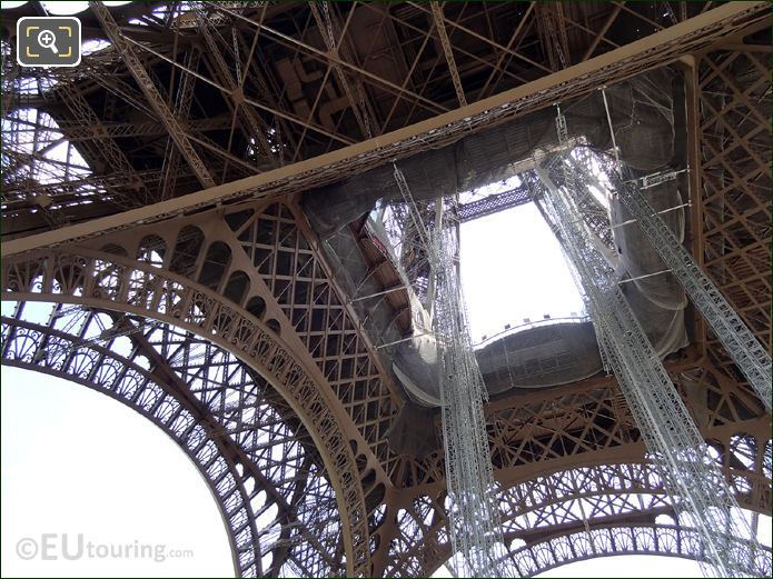 Eiffel Tower Iron Work