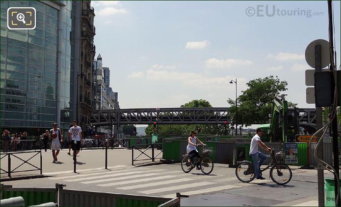 The Japan Cultural Centre In Paris