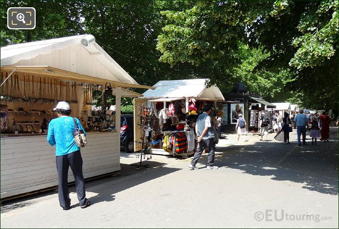 Market Stalls On Quai Branly