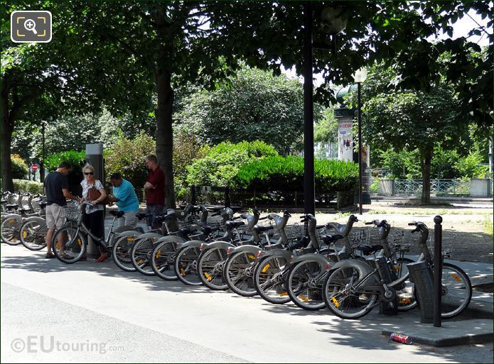 Paris Velib Bike System