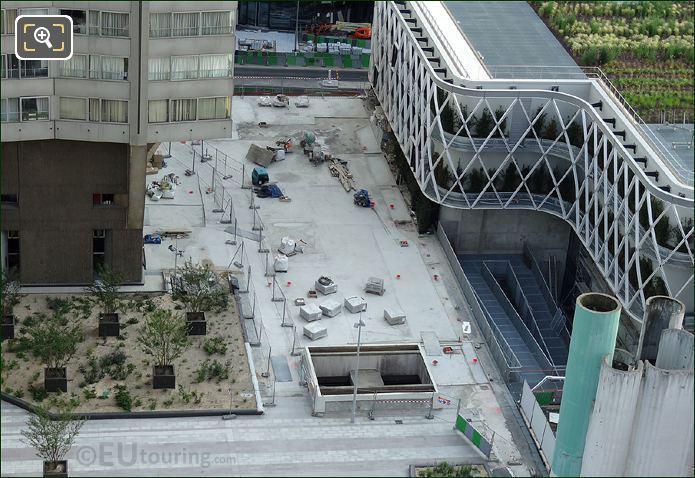 Paris Construction Work Site