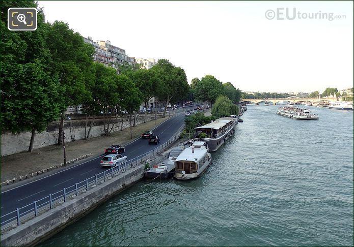 Voie Georges Pomidou In Paris