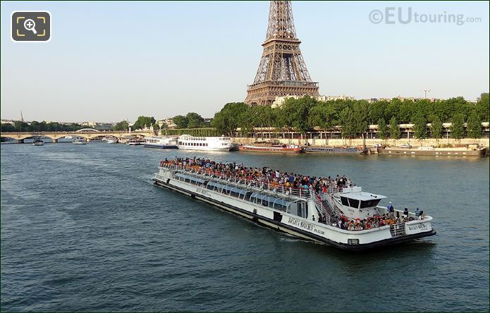 Bateaux Mouches Cruise Boat