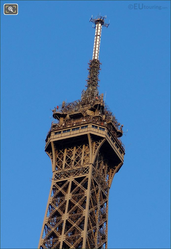 Ccomunication Antennas On The Eiffel Touwer