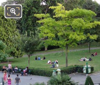 Jardins du Trocadero Gardens