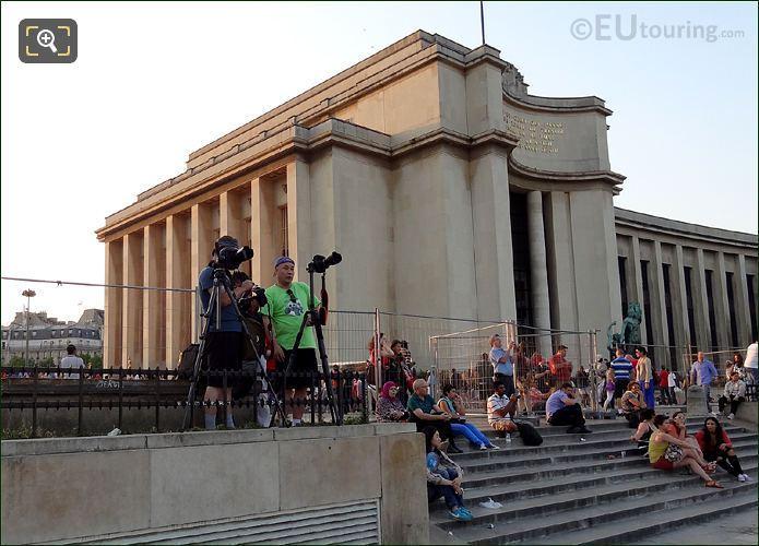 Photographers At Palais Chaillot
