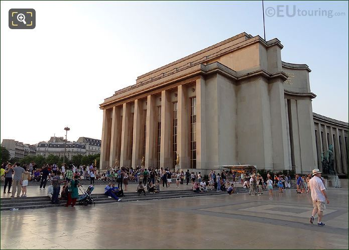 Tourist At Palais de Chaillot