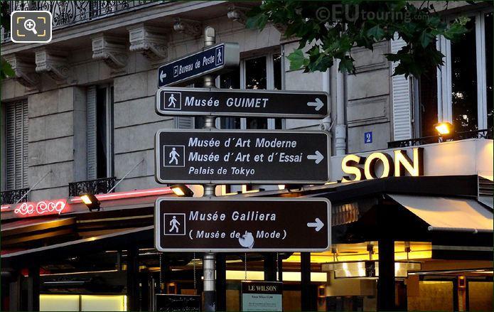 Sign Posts In Paris