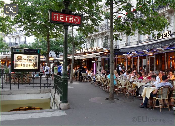 Trocadero Cafes