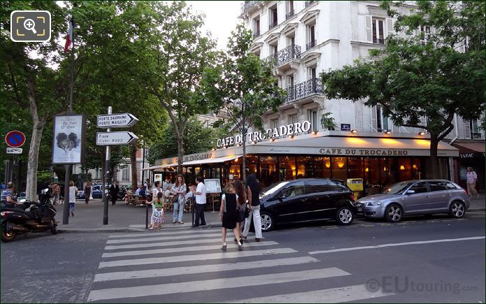 Cafe du Trocadero In Paris