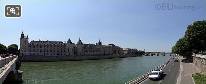 Conciergerie And River Seine